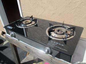 №❶⫸ Dual Burner Portable Propane Gas Stove