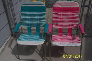 Lawn Chairs and Chaise Lounge