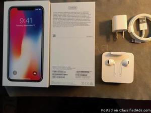 Brand new iPhone X 256gb unlocked
