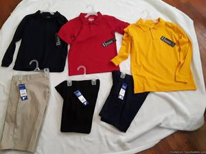 school uniforms for sale new with tags
