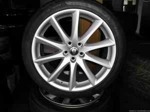 4 19 inch jaguar WHEELS AND TIRES atlanta (with shipping