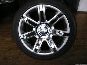 4 22 inch cadillac escalade wheels and tires