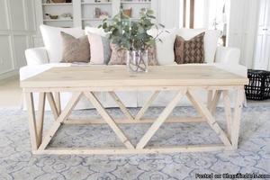 Designer Custom Solid Wood Coffee Table