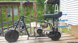 Late 60's early 70's Sears Drover Ranch Mini Bike