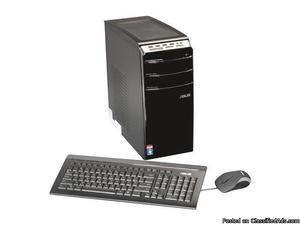 HP DESKTOP COMPUTER SYSTEM, 22 INCH WIDESCREEN