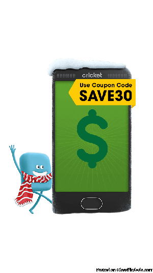Save $30 On Phones Over $50!!! (MSW Cricket Wireless)