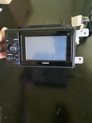 GPS head unit with removable, standalone TomTom GPS unit