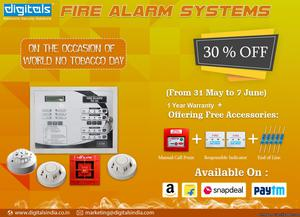 Fire Alarm System with (1 MCP 2 RI 1 EoL)FREE