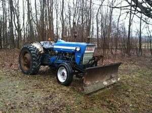 Ford F tractor