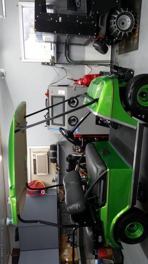 Electric Club Car Golf Cart