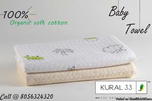 100% organic cotton towels | baby towels | kids towels |