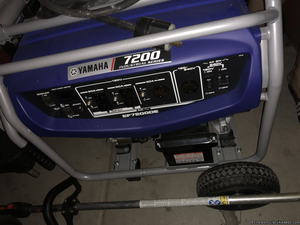 Yamaha generator  watts
