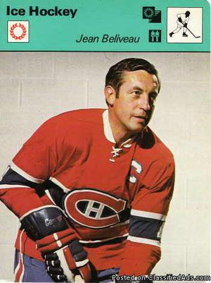 Jean Beliveau  Sportcaster The Great Canadian
