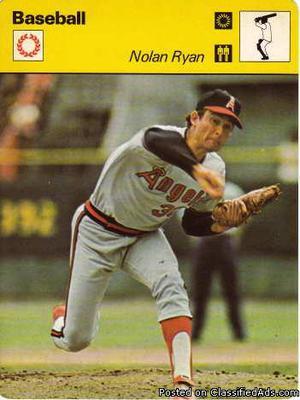 Nolan Ryan  Sportcaster Ryan's Express