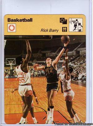 Rick Barry  Sportcaster The Golden Warrior 415