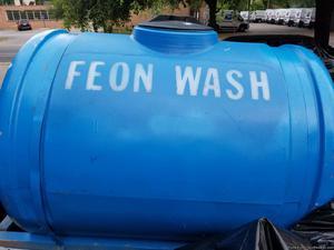 Blue water tank 110 gallon no leaks no holes