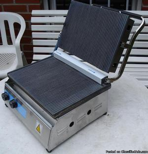Contact Grill Gas Panini Toaster Griddle Sandwich LPG Oven