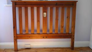 Solid Wood King Sized Bedframe