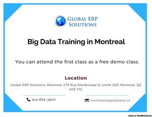 Big Data and Hadoop Training in Montreal