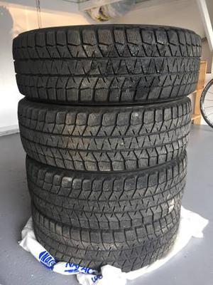 Bridgestone winter tires, excellent conditions