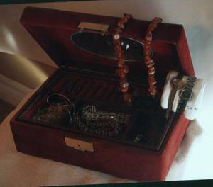 Jewellery Box With Contents Bulova Citizen Watches