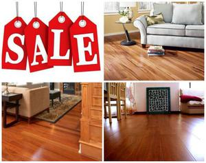 Liquidation SALE! Prefinished Brazilian Jatoba floor stars