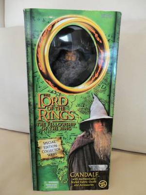 "Lord Of The Rings Gandalf 12"" Poseable Action Figure -New in"