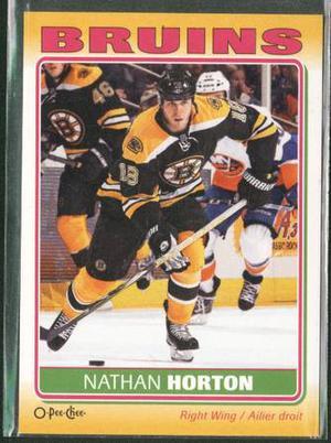 O Pee Chee Sticker Nathan Horton Bruins