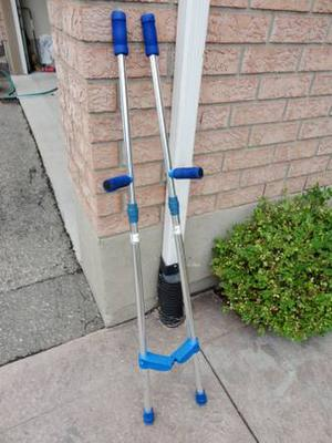 Pair Of Adjustable Toy Stilts for the performer in the home