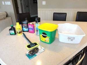 Some Gardening Fertilizer &Auto or Small Engine Supplies