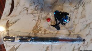 Telescopic Fishing Rod with Spinning Reel and accessories