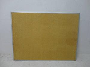 "Vision 47 x36"" Framed Cork board. Great for Work or Home"
