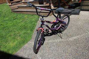 Monster High Bike - 20 Inch - Purple and Black