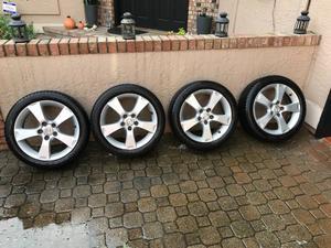 "Set of Mazda 3 OEM 17"" wheels"