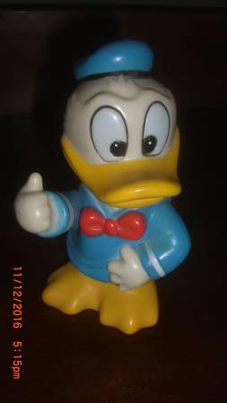Vintage Walt Disney Production Donald Duck Bank made in