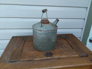 Vintage 's Galvanized Gas Can