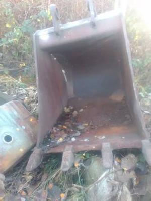 Excavator bucket dexter for  Rock box