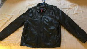 IZOD real leather jacket for men, large