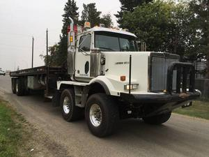 Western Star SA T/A T/A Bed Truck