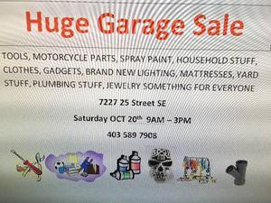 huge garage sale