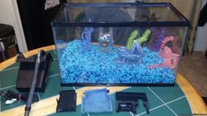 10 gallon fish tank with extra
