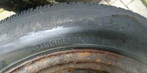 "15"" winter tires on rims"