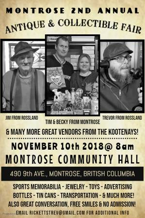 MONTROSE 2nd ANNUAL ANTIQUE & COLLECTIBLE FAIR