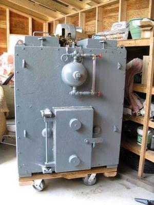 Wood Fired Boiler Furnace