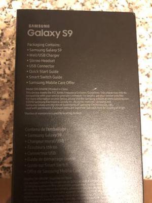 Brand new in box Samsung Galaxy 9