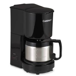 Cuisinart 4 cup Thermos Coffee Carafe w Heater. Black +