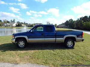 GMC Sierra  Blue Truck