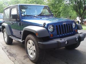 Jeep Wrangler 4x4 -- 2dr SUV 30K Miles $