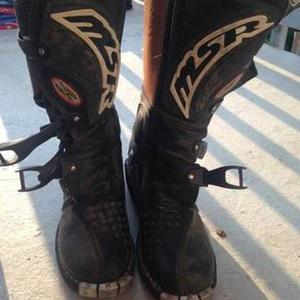 MSR Dirt Bike Boots size 8