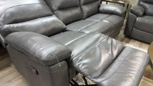 New Real Leather Recliner Sofa/ Love Seat/ Chair